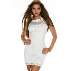 La robe blanche Yasmina