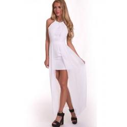 La robe d'été blanche