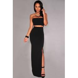 L'ensemble bandeau + jupe noir