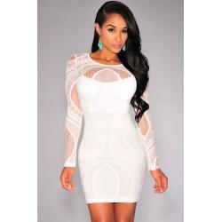 La robe en dentelle blanche Tania