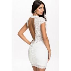 La robe en dentelle blanche Paloma