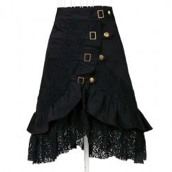 La jupe vintage noir