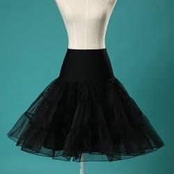 La jupe en tulle noire ou blanche