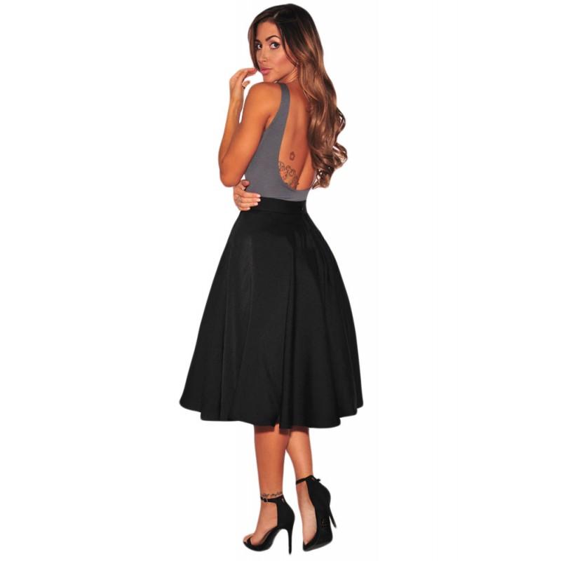 la jupe vas e lolita noire chez bustiers et corsets