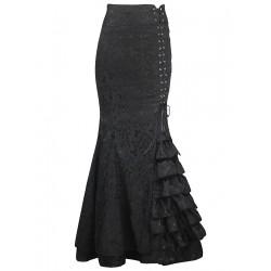 La jupe sirène style corset