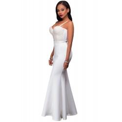 La jupe sirène blanche