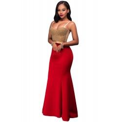 La jupe sirène rouge