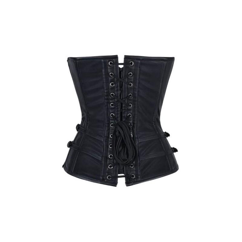 Le corset simili cuir cha nettes chez bustiers et corsets - Qu est ce que le simili cuir ...