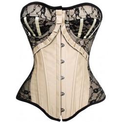 Le corset noir et or Madonne