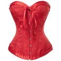 Le corset renaissance rouge