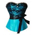 Le corset Laura turquoise