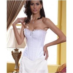Le corset de cérémonie Marion blanc
