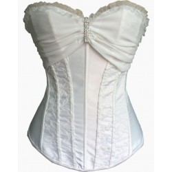 Le corset pour mariage blanc