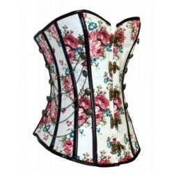 Le corset à fleurs baroque