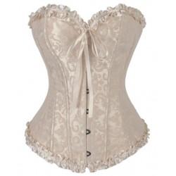 Le corset vintage ivoire