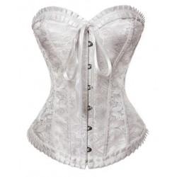 Le corset renaissance blanc