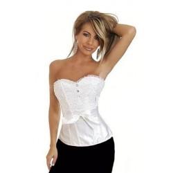 Le corset Laura blanc