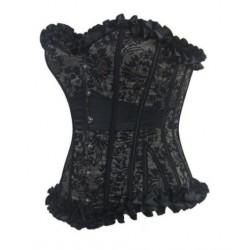 Le corset en dentelle pour vos soirées
