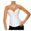 Le corset vintage blanc
