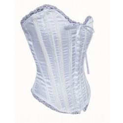 Le corset vintage blanc pour mariage
