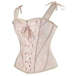 Le corset vintage Matilda rose chair
