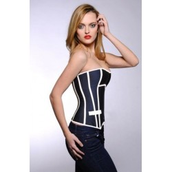 Le corset navy
