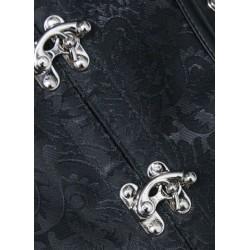 Le serre-taille steampunk brocade et cuir
