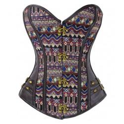 Le corset motifs africains