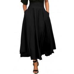 La jupe longue taille haute noeud papillon