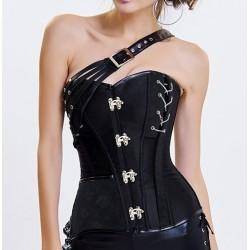 Le corset gothique chic noir