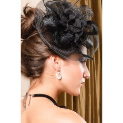 La barrette chapeau Valéria