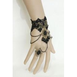 Bijou de main noir