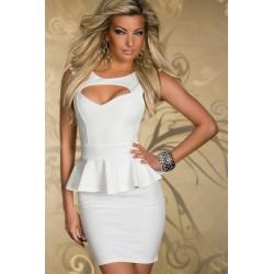 La robe élégance blanche