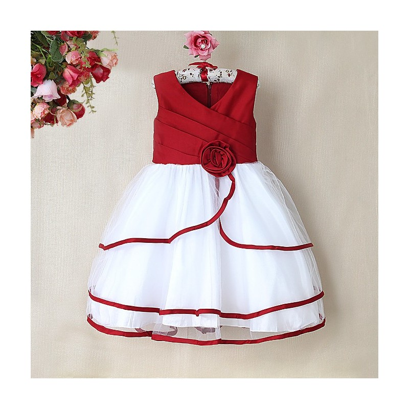 Petite robe rouge pour mariage