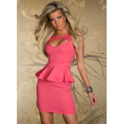 La robe élégance rose