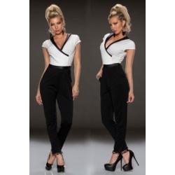 Combinaison bustier price chez bustiers et corsets - Tapisserie noire et blanche ...